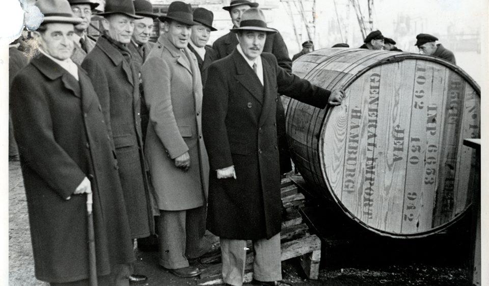 Marshallplan-Tabake Hamburg1948