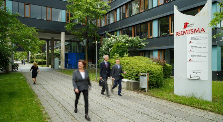 Reemtsma, Standort Hamburg, Logo, Arbeitsweg, Mitarbeiter